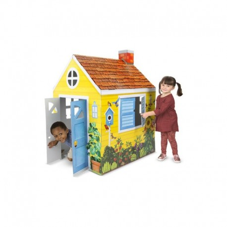 Melissa and Doug Casuta din carton Country Cottage