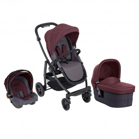 Graco Carucior Graco Evo 3 in 1 Crimson