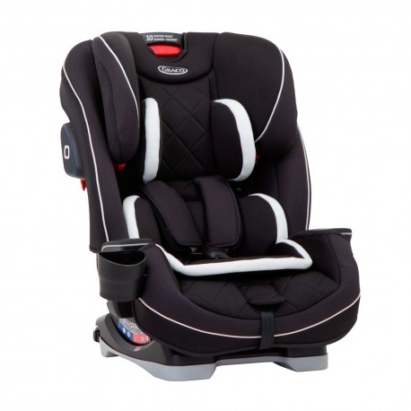 Graco Scaun auto Graco SlimFit LX 3 in 1 Midnight Black
