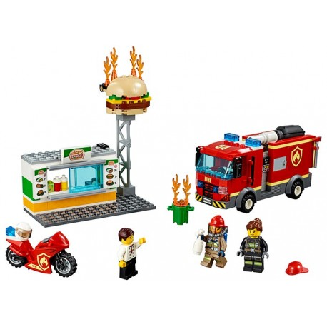 LEGO City Stingerea incendiului de la Burger Bar (60214)
