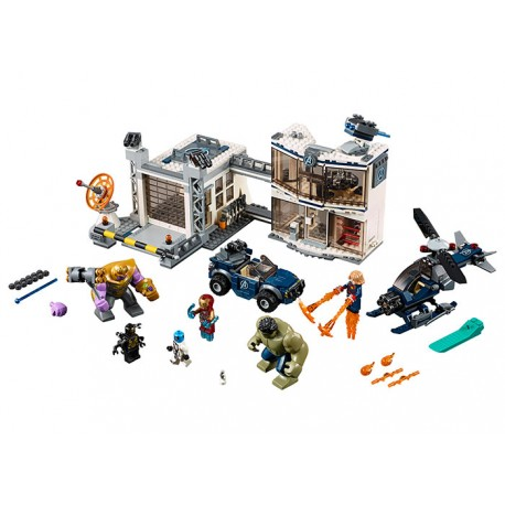 LEGO Marvel Super Heroes Batalia combinata a Razbunatorilor (76131)