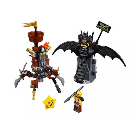 LEGO Movie Batman si Barba metalica (70836)