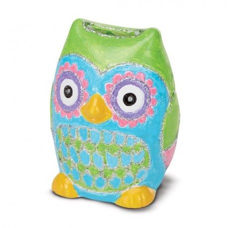 Pusculita de decorat Bufnita Melissa and Doug