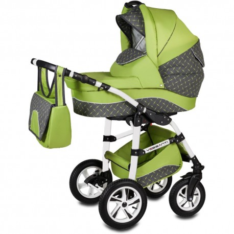 Vessanti Carucior Flamingo Easy Drive 3 in 1 - Green