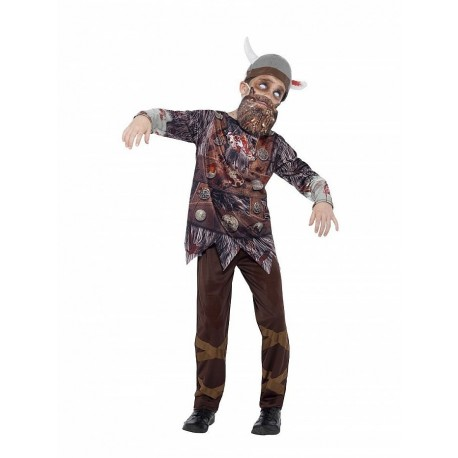 Smiffy's Costum viking zombi 10/12 ani