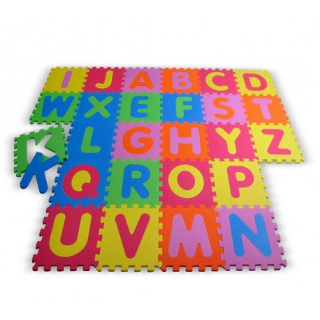 Knorrtoys Covor puzzle 26 piese din spuma Alphabet
