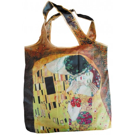 Fridolin Sacosa textil Klimt The kiss