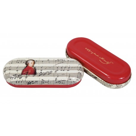 Fridolin Etui ochelari metalic Fridolin Mozart