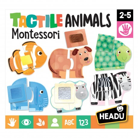 Headu Montessori Animale Senzoriale