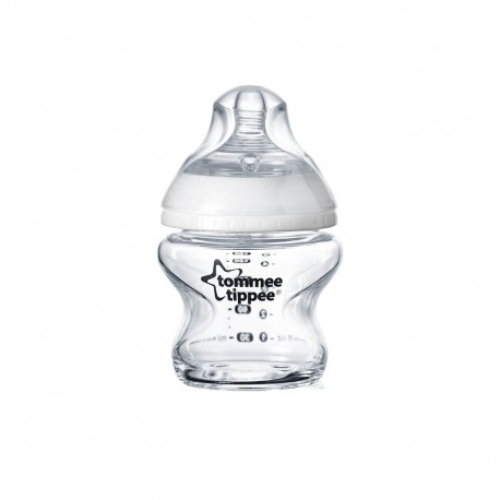 Tommee Tippee Biberon Closer to Nature, Tommee Tippee, sticla, 150ml