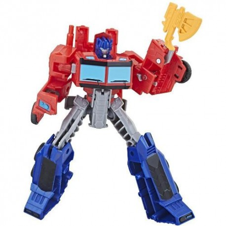 Hasbro Figurina Transformers Cyberverse Warrior Class Optimus Prime