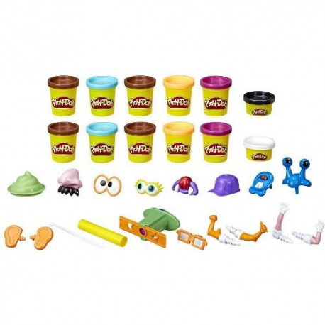 Hasbro Set Plastelina Play-Doh Poop Troop 12 Cutii