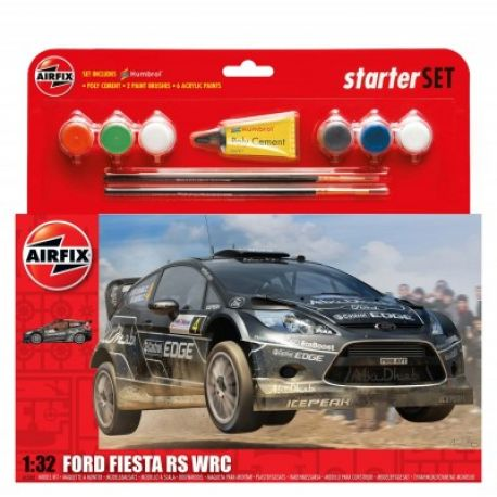 Airfix Kit constructie si pictura masina Ford Fiesta RS WRC