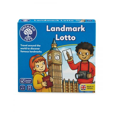 Orchard Toys Joc educativ Atractii Turistice LANDMARK LOTTO