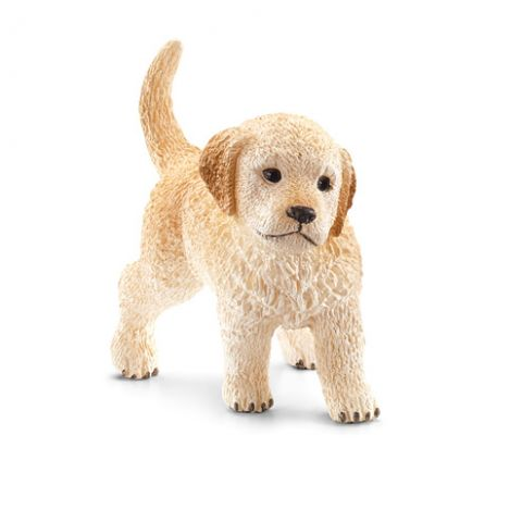 Schleich Figurina Golden Retriever pui