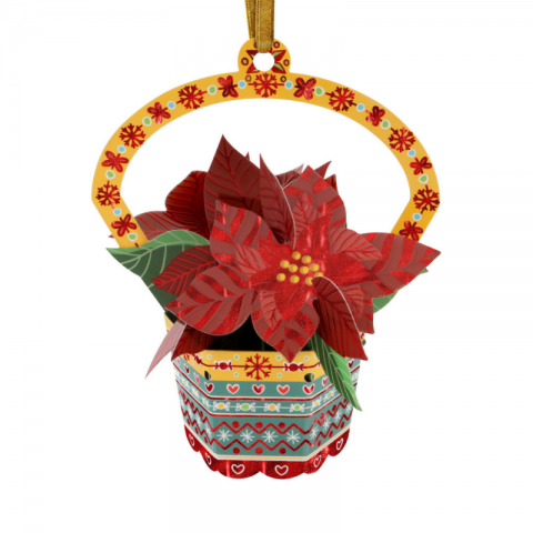 Ornament de brad Craciun Santoro Baubles Craciunita