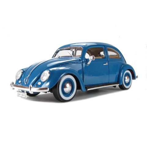 Bburago 1:18 gold vw kafer beetle (1955)