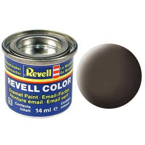 Revell Vopsea Leather brown, mat 14 ml RV32184