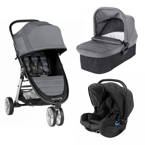 Baby Jogger Carucior City Mini 2 Slate sistem 3 in 1