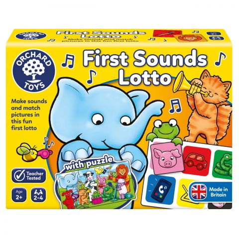Orchard Toys Joc educativ loto Primele sunete FIRST SOUNDS LOTTO