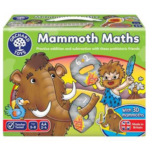 Orchard Toys Joc educativ Matematica Mamutilor MAMMOTH MATH