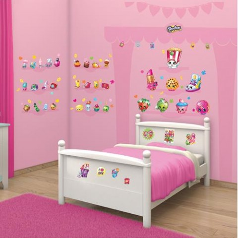 Walltastic Kit Decor Shopkins