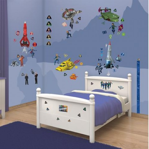 Walltastic Kit Decor Thunderbirds Are Go