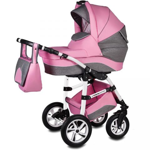 Vessanti Carucior Flamingo Easy Drive 3 in 1- Pink