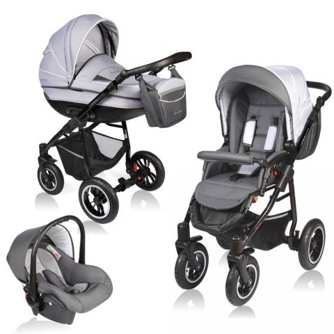 Vessanti Carucior Crooner 3 in 1 - Gray