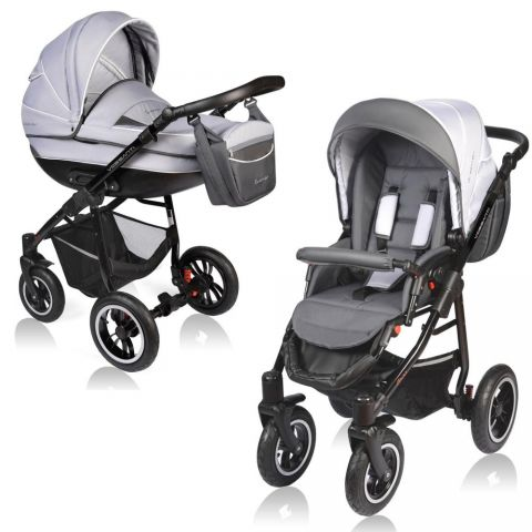 Vessanti Carucior Crooner 2 in 1- Gray