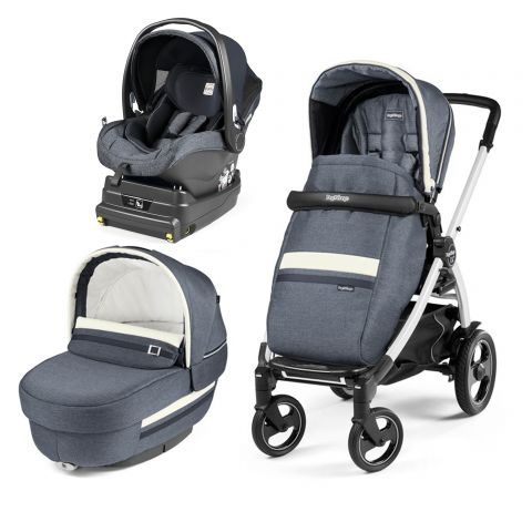 Peg Perego Carucior 3 In 1 Book Plus 51 S Titania White i-Size Luxe Mirage
