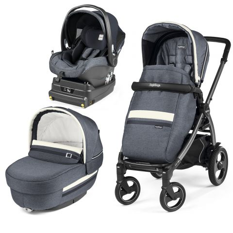Peg Perego Carucior 3 In 1 Book Plus 51 S Titania i-Size Luxe Mirage