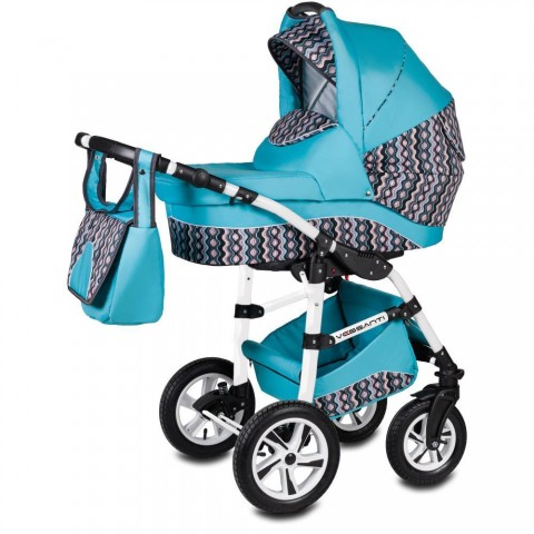 Vessanti Carucior Flamingo Easy Drive 3 in 1 - Turquoise