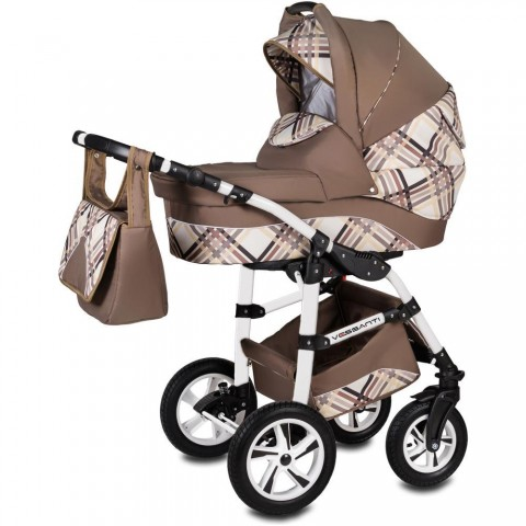 Vessanti Carucior Flamingo Easy Drive 3 in 1 - Brown
