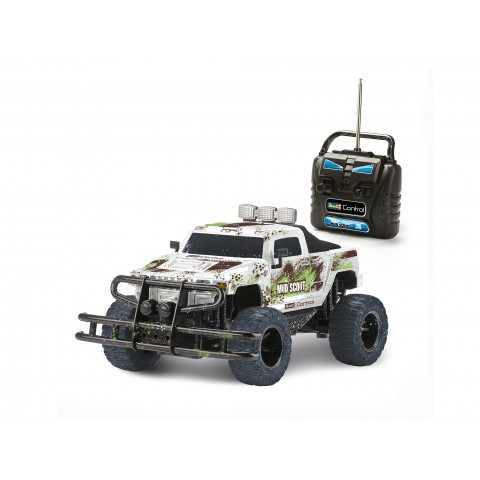 Revell Jeep Offroad Truck New Mud Scout